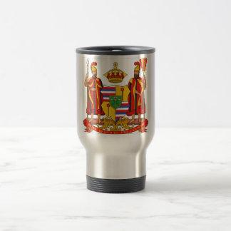 Hawaii Royal Coat of Arms Travel Mug