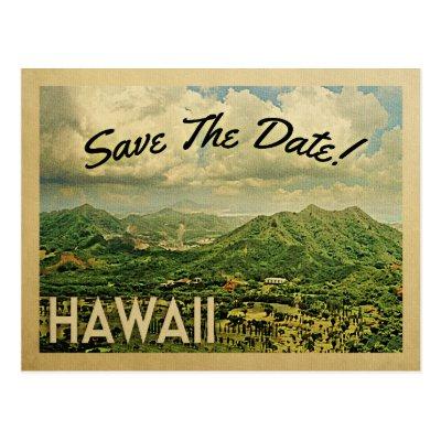 Ideal Honolulu Hawaii vintage postcard | Zazzle.com BW34