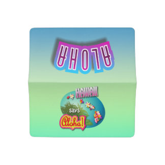 Hawaii Says Aloha! Checkbook Cover