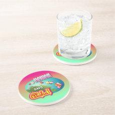 Hawaii Says Aloha! Drink Coaster