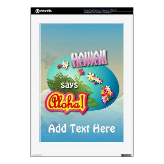 Hawaii Says Aloha! Skin For PS3 Console