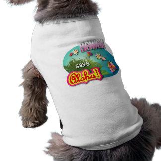 Hawaii Says Aloha! T-Shirt