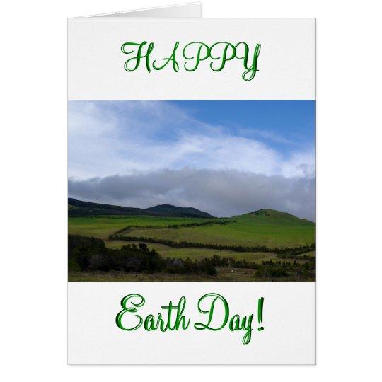Hawaii Scene Earth Day Card