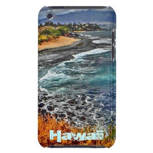 Hawaii scenic coast ipod touch case