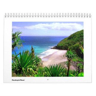 Hawaii Scenic Hanakapiai Calendar