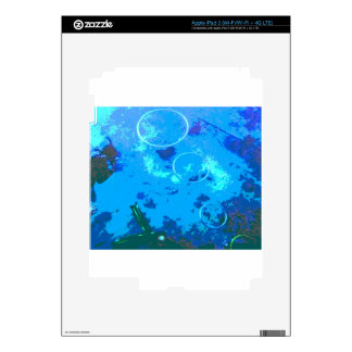 Hawaii scuba diver decals for iPad 3