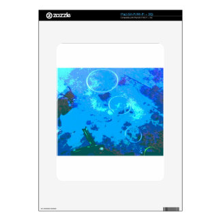 Hawaii scuba diver iPad skin