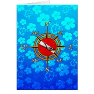Hawaii SCUBA Diving Card