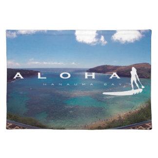 Hawaii se levanta la paleta mantel individual