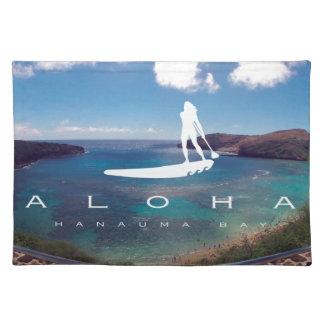 Hawaii se levanta la paleta mantel