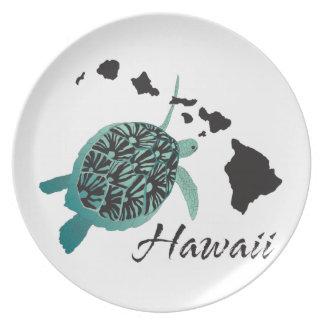 Hawaii Sea Turtle Dinner Plate