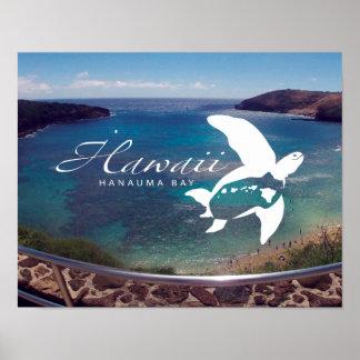 Hawaii Sea Turtle - Honu Poster
