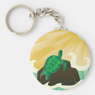 Hawaii Sea Turtle Key Chain