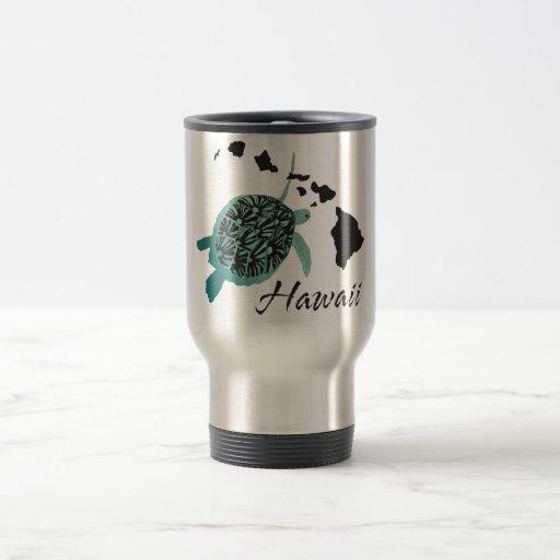 Hawaii Sea Turtle Coffee Mugs