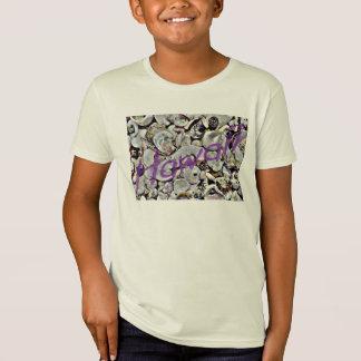 Hawaii Seashells Kid's Organic Tshirt