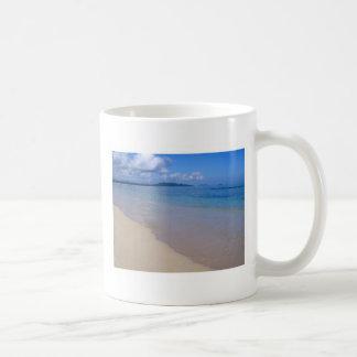 Hawaii Seashore Classic White Coffee Mug
