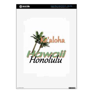 HAWAII iPad 3 SKIN
