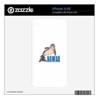 Hawaii Decals For The iPhone 4