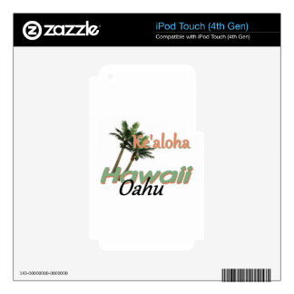 HAWAII SKIN FOR iPod TOUCH 4G
