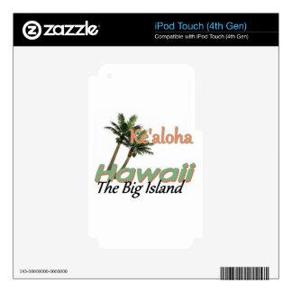 HAWAII SKINS PARA iPod TOUCH 4G