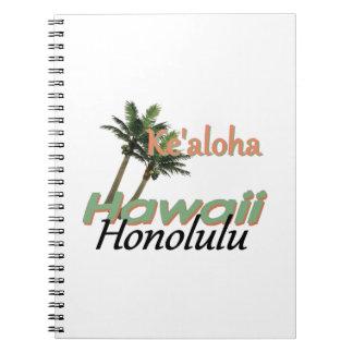 HAWAII SPIRAL NOTEBOOK