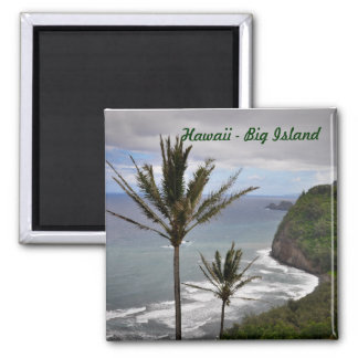 Hawaii Square Magnet