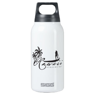 Hawaii Stand Up Paddle Insulated Water Bottle