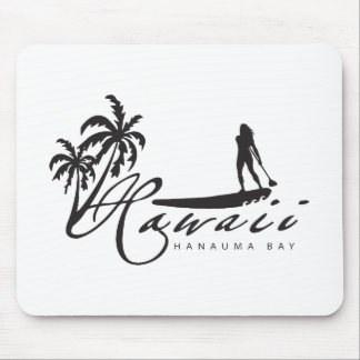 Hawaii Stand Up Paddle Mouse Pad