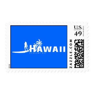 Hawaii Stand Up Paddling Stamp