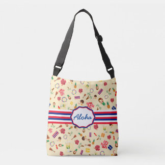 Hawaii State Famous Items Crossbody Bag