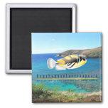Hawaii State Fish - Humuhumunukunukuapua'a. Refrigerator Magnet
