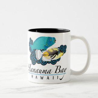 Hawaii State Fish - Humuhumunukunukuapua'a Two-Tone Coffee Mug