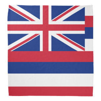 Hawaii Flag Bandanas & Kerchiefs | Zazzle