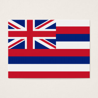 Hawaii State Flag Business Card