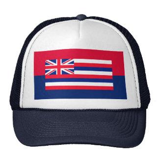 Hawaii State Flag Design Decor Trucker Hat