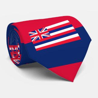 Hawaii State Flag Design Neck Tie