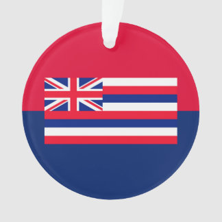 Hawaii State Flag Design Ornament