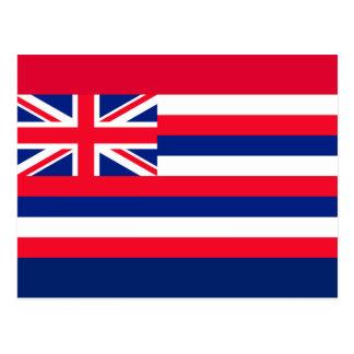 Hawaii State Flag Design Postcard