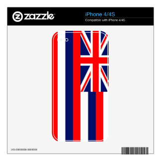 Hawaii State Flag iPhone 4 Skin
