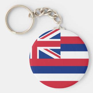 Hawaii State Flag Keychain