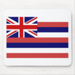 Hawaii State Flag Mouse Pad