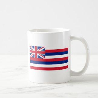 Hawaii State Flag Coffee Mugs