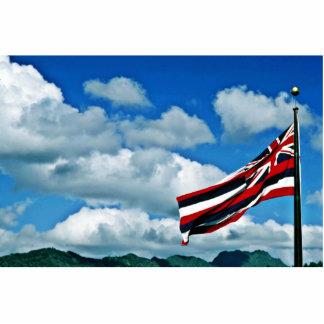 Hawaii State Flag - Oahu Photo Cut Out