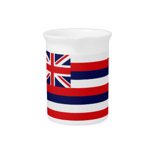 Hawaii State Flag Pitcher