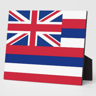 Hawaii State Flag Plaque