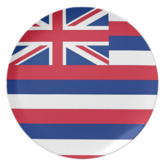 Hawaii State Flag Plate