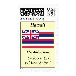 Hawaii State Flag Postage