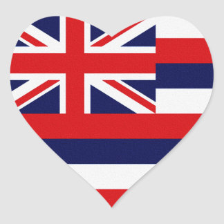 Hawaii State Flag Stickers