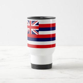 Hawaii State Flag Travel Mug
