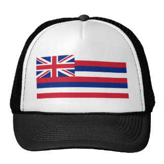 Hawaii State Flag Trucker Hat